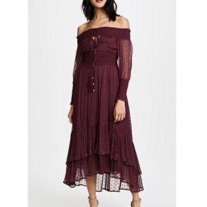 Dresses & Skirts - Rahi Juliet Smocked Maxi NWT